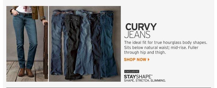 Shop Curvy Jeans