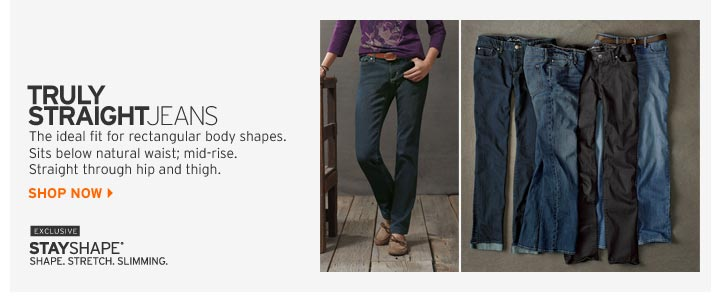Shop Truly Straight Jeans