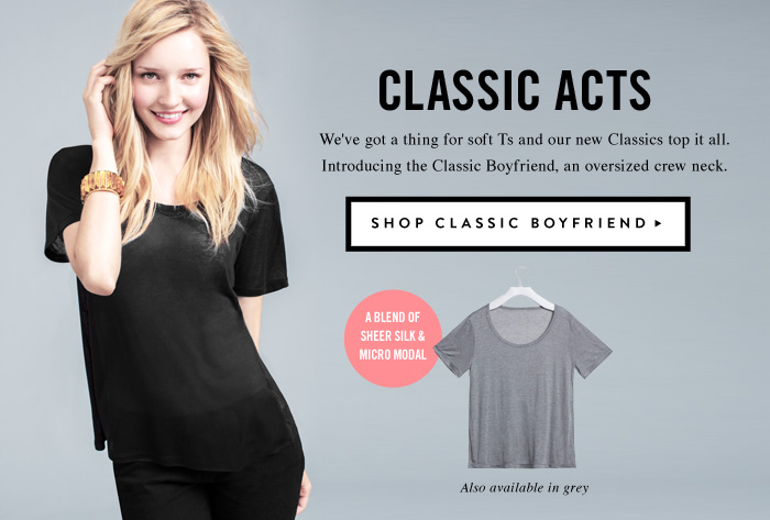 Classic Acts - Shop Classic Boyfriend