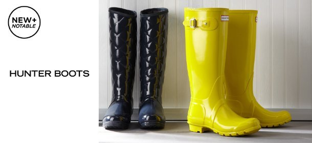 HUNTER BOOTS, Event Ends August 19, 9:00 AM PT >