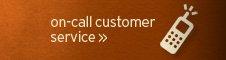 on  call customer service