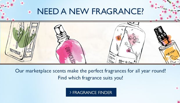 Need a New Fragrance? Our marketplace scents make the perfect fragrances for all year round!  Which fragrance suits you?
