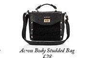 Across Body Studded Bag