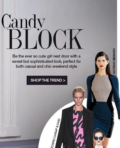 Candy block