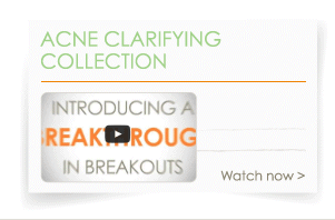 Acne Clarifying Collection Video>