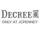 DECREE ONLY AT JCPENNEY