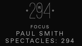 Paul Smith Spectacles: 294