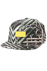 The Iron Side Strapback Hat in Deep Forest