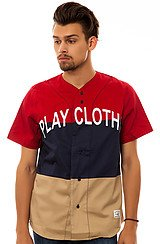 The Hyper Tag Baseball Jersey in Chili Pepper