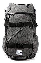 The Tech Bag in Dark Melton Black