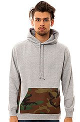 The Cam Find Hoody in Heather Grey