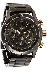 The Frost Watch in Black Gold