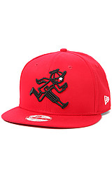 The Running Jack Snapback Hat in Cardinal