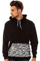 The Zebratic Hoody in Black