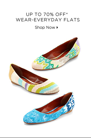 Up To 70% Off* Wear-Everyday Flats