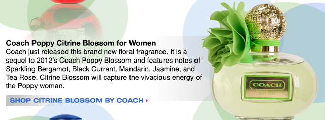 Shop Coach Poppy Citrine Blossom