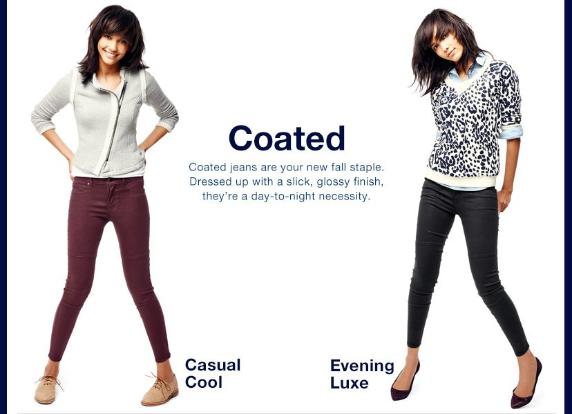 Coated | Casual Cool | Evening Luxe