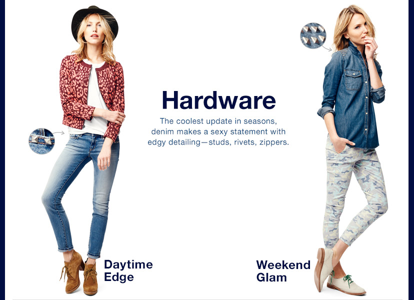 Hardware | Daytime Edge | Weekend Glam