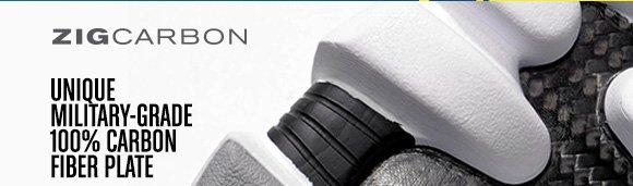 ZIGCARBON UNIQUE MILITARY–GRADE 100% CARBON FIBER PLATE