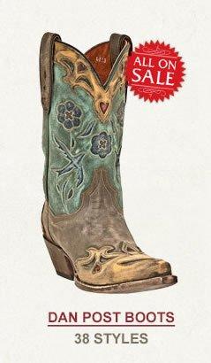 All Womens Dan Post Boots on Sale