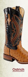 Womens Ostrich Boots on Sale