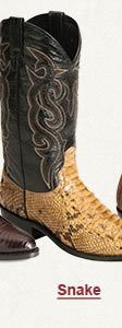 Mens Snake Boots on Sale