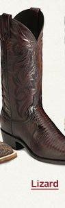 Mens Lizard Boots on Sale