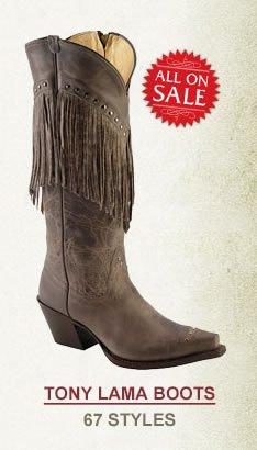 All Womens Tony Lama Boots on Sale