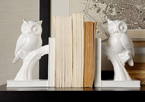 Dress Up a Shelf: Bookends