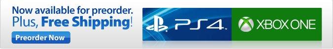 Preorder Xbox & PS4