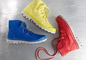 Pop of Color: Shoes