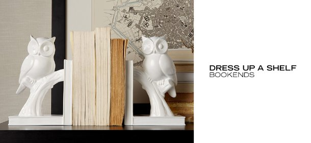 DRESS UP A SHELF: BOOKENDS, Event Ends August 21, 9:00 AM PT >