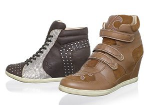 Fall Footwear Trend: Wedge Sneakers