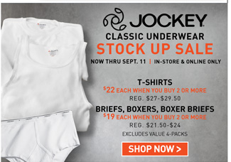 Shop All 2for Jockey