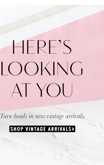 Shop Vintage Arrivals