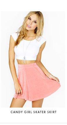 Candy Girl Skater Skirt