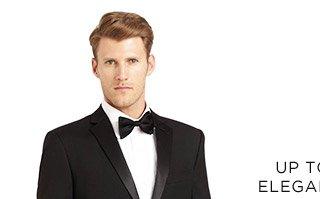 Up To 70% Off* Elegant Evenings - Shop For Him