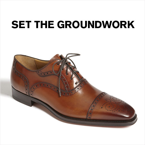 SET THE GROUNDWORK