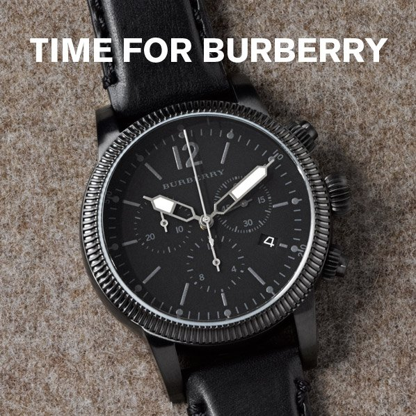 TIME FOR BURBERRY