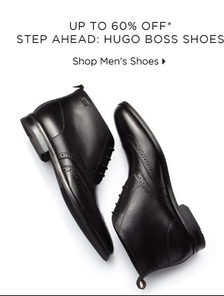 Up To 60% Off* Step Ahead: Hugo Boss Shoes