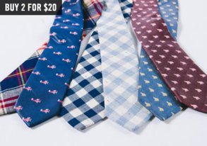Shop Tie Your Look Together: 2 for $20