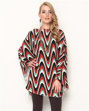 M Missoni Multicolor Silk Dress - Made In Italy