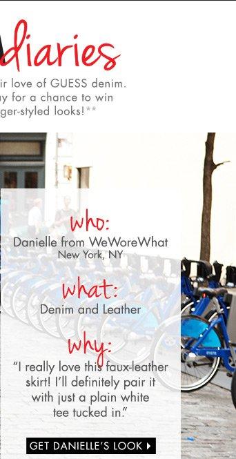 Get Danielle's Look