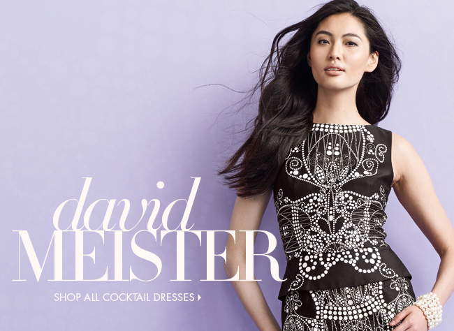 David Meister + more DRESSES