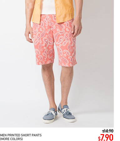 MEN PRINTED SHORT PANTS