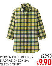 WOMEN MADRAS SHIRT