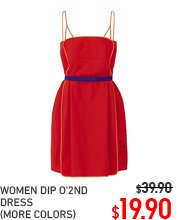 WOMEN DIP DRESS