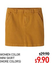 WOMEN MINI SKIRT