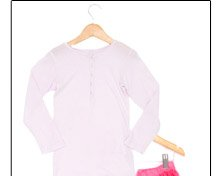 Wheat Girl's Cotton Long-Sleeved Shirt