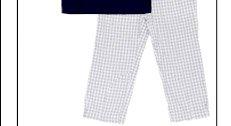 Wheat Boy's Plaid Pants